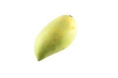 Mangofruit op witte achtergrond wordt geïsoleerd die Stock Afbeelding