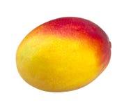 Mangofrukt som isoleras på vit bakgrund Royaltyfria Foton