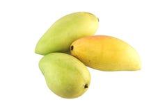 Mangofrukt som isoleras på vit bakgrund Royaltyfri Bild