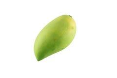 Mangofrukt som isoleras på vit bakgrund Arkivbilder