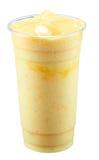 Mangois som blandas med geléspackel royaltyfri foto