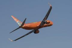 MangoluftBoeing flygparad Arkivfoton