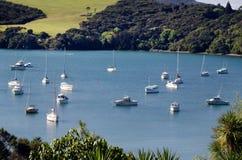 Mangonui hamn - Nya Zeeland arkivfoto