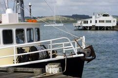 Mangonui Harbor, New Zealand Royalty Free Stock Photography