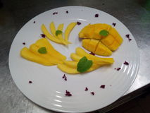 mangopflaume Lizenzfreies Stockbild