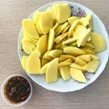 mangopflaume Lizenzfreie Stockfotografie