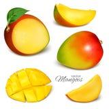 mangopflaumen Stockfoto