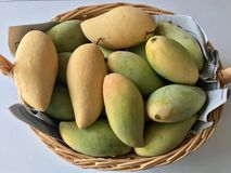mangopflaumen Lizenzfreie Stockfotos