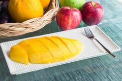 Mangoplak Royalty-vrije Stock Afbeelding