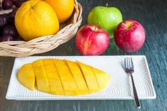 Mangoplak Royalty-vrije Stock Foto's