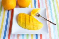 Mangoplak Royalty-vrije Stock Foto