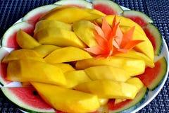 Mangoplak Stock Afbeelding