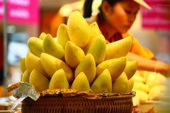 Mangos amarillos Fotos de archivo libres de regalías