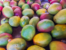 Mangos Farmers Market Stock Photo