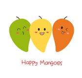 Mangos felices lindos Fotos de archivo libres de regalías