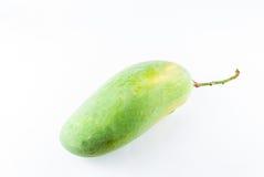 Mangos lokalisiert auf einem weißen Hintergrund Stockbild