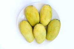 Mangos maduros frescos Fotografía de archivo libre de regalías