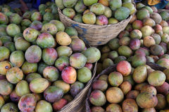 Mangos at the market Stock Photos