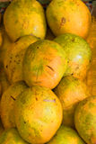 Mangos on market Stock Photo