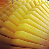 Mangoscheibe Lizenzfreies Stockfoto