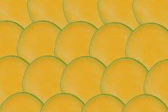 mangoskivor Arkivfoto
