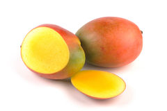 mangoskivor Royaltyfri Bild