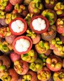 Mangostán Imagen de archivo libre de regalías
