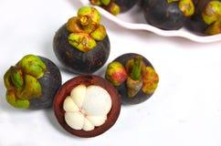 Mangostán Fotografía de archivo