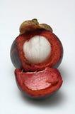 Mangostán pelado Fotografía de archivo libre de regalías