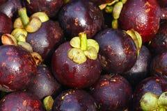 Mangostanfrüchte Lizenzfreies Stockfoto