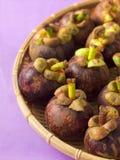 Mangostanfrüchte Lizenzfreie Stockfotografie
