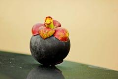 Mangostanfrucht stockbilder