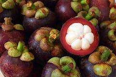 Mangostanfrucht Lizenzfreie Stockbilder