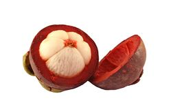 Mangostanfruchtfrucht Lizenzfreie Stockfotografie