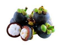 Mangostanfruchtfrucht Lizenzfreies Stockbild