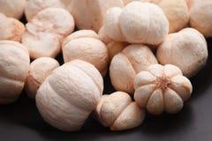 Mangostankoningin van Fruit Vacuümvorst - droge Knapperige Snack royalty-vrije stock afbeelding