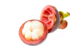 Mangostano della frutta tropicale Immagini Stock