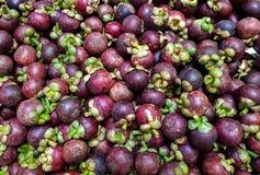 Mangostans Royalty-vrije Stock Foto