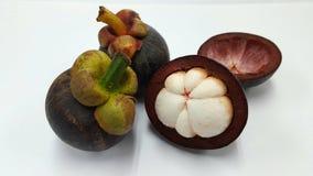 Mangostans van Thailand Stock Foto's