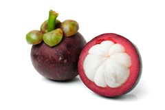Mangosteen Stock Image