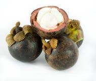 Mangosteen. The queen of fruits mangosteen Royalty Free Stock Photos