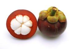 Mangosteen Arkivbild