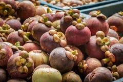Mangosteen. stock photos