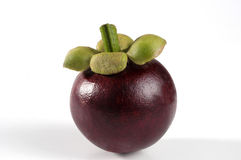 Mangosteen fruit Stock Photos