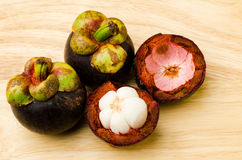 Mangosteen fruit Royalty Free Stock Image
