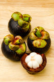 Mangosteen fruit Royalty Free Stock Images