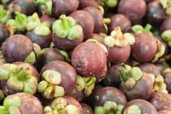 Mangosteen fruit Stock Photo
