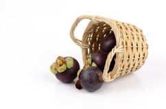Mangosteen(Garcinia mangostana Linn.) Queen of Fruits Stock Photography