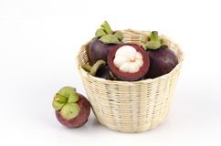 Mangosteen(Garcinia mangostana Linn.) Queen of Fruits Stock Images