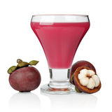 Mangosteen juice Stock Photography